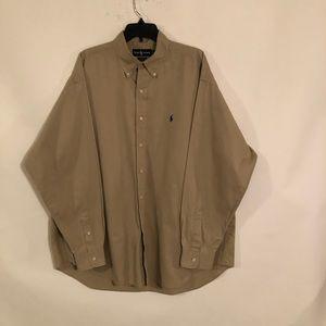 Ralph Lauren Belaire Men's Long Sleeve Shirt XL